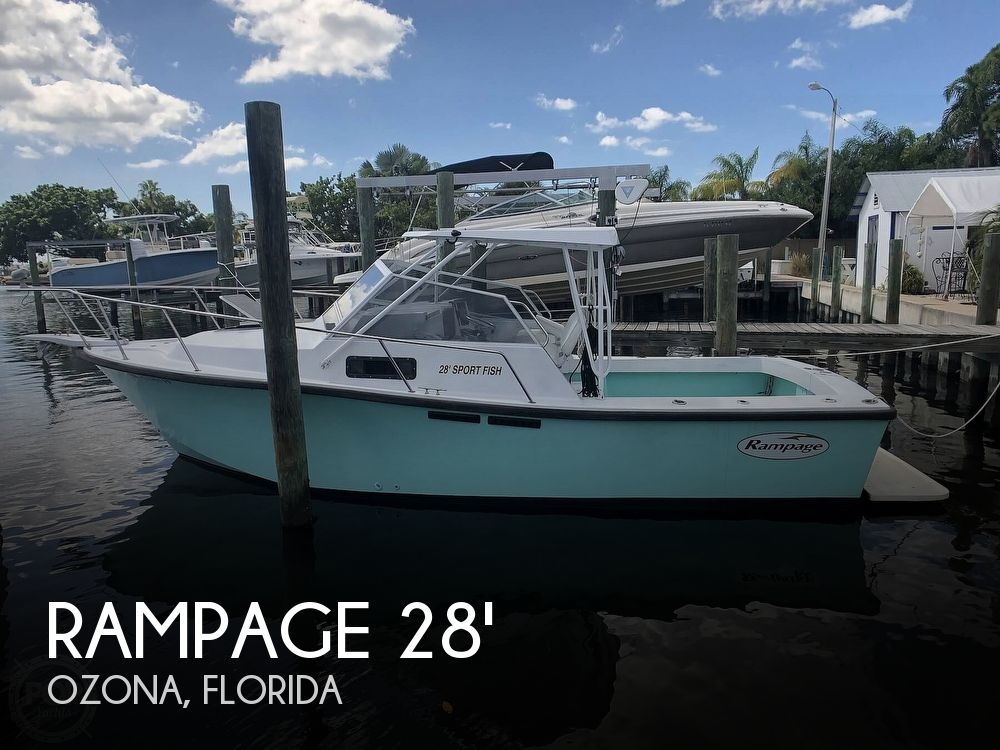 Used Rampage Boats For Sale by owner | 1988 Rampage 28 Sportsman