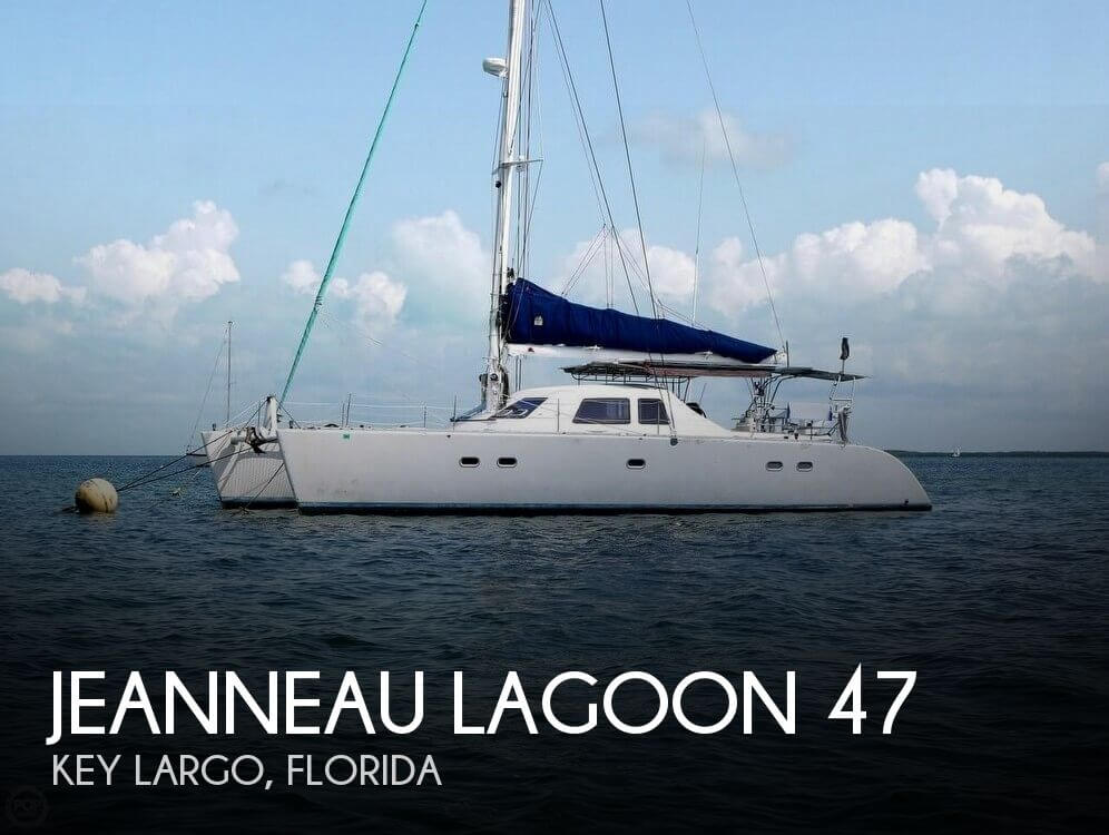 1994 Jeanneau boat for sale, model of the boat is Lagoon 47 & Image # 1 of 40