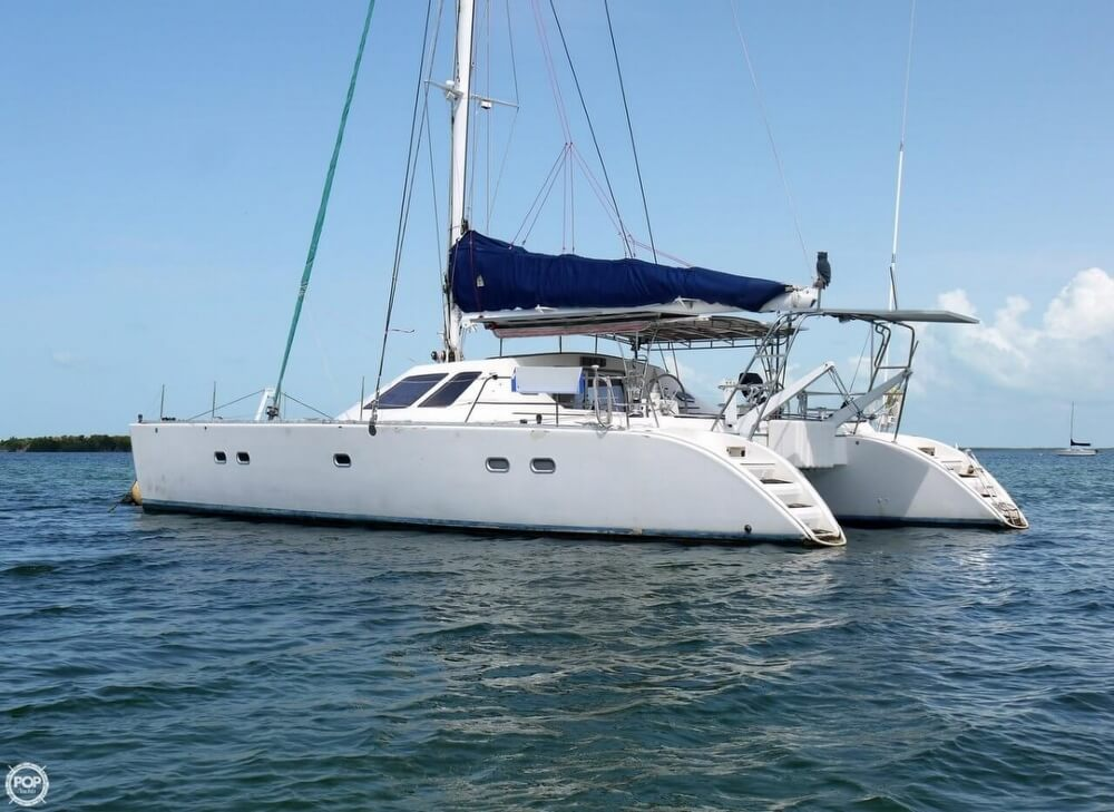 1994 Jeanneau boat for sale, model of the boat is Lagoon 47 & Image # 13 of 40