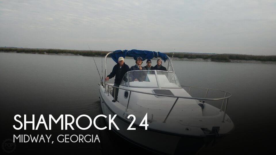 Used Shamrock Boats For Sale by owner | 1997 Shamrock 24