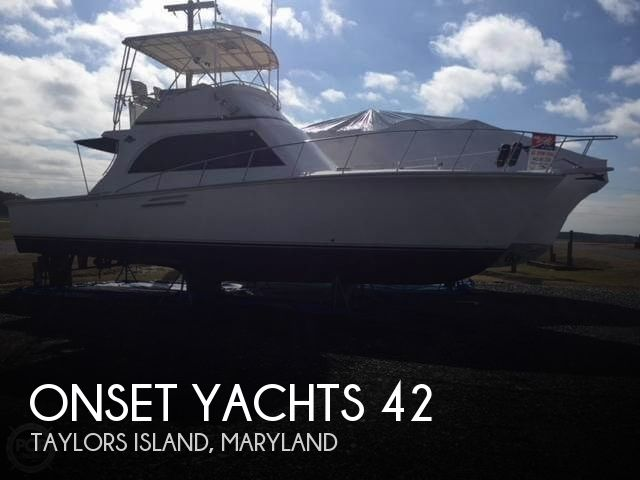 Used Boats For Sale in Maryland by owner | 1993 Onset Yachts 42