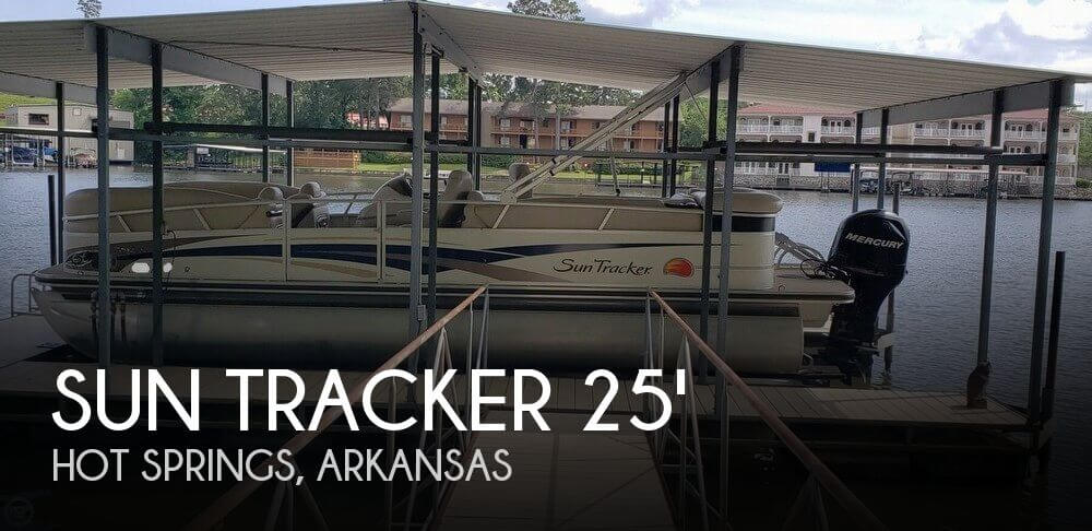 Used Boats For Sale in Little Rock, Arkansas by owner | 2010 Sun Tracker 25 Regency Edition