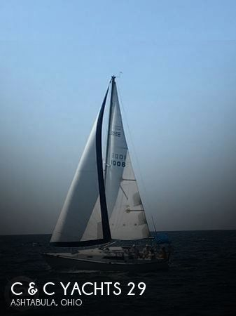 Used Sailboats For Sale in Ohio by owner   1984 C & C Yachts 28