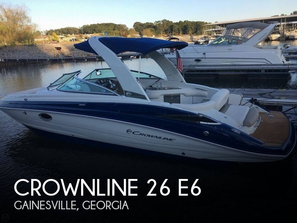 Used Power boats For Sale in Georgia by owner | 2016 Crownline 26 E6