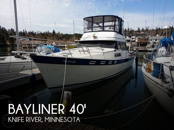 Used Boats For Sale in Duluth, Minnesota by owner | 1984 Bayliner 40
