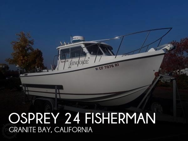 Used Osprey Boats For Sale by owner | 2005 Osprey 24
