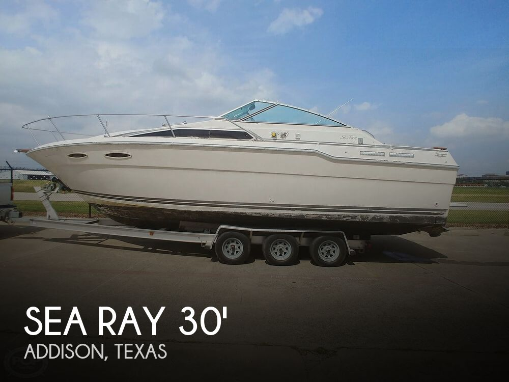 1986 Sea Ray boat for sale, model of the boat is SRV 300 Sundancer & Image # 1 of 40