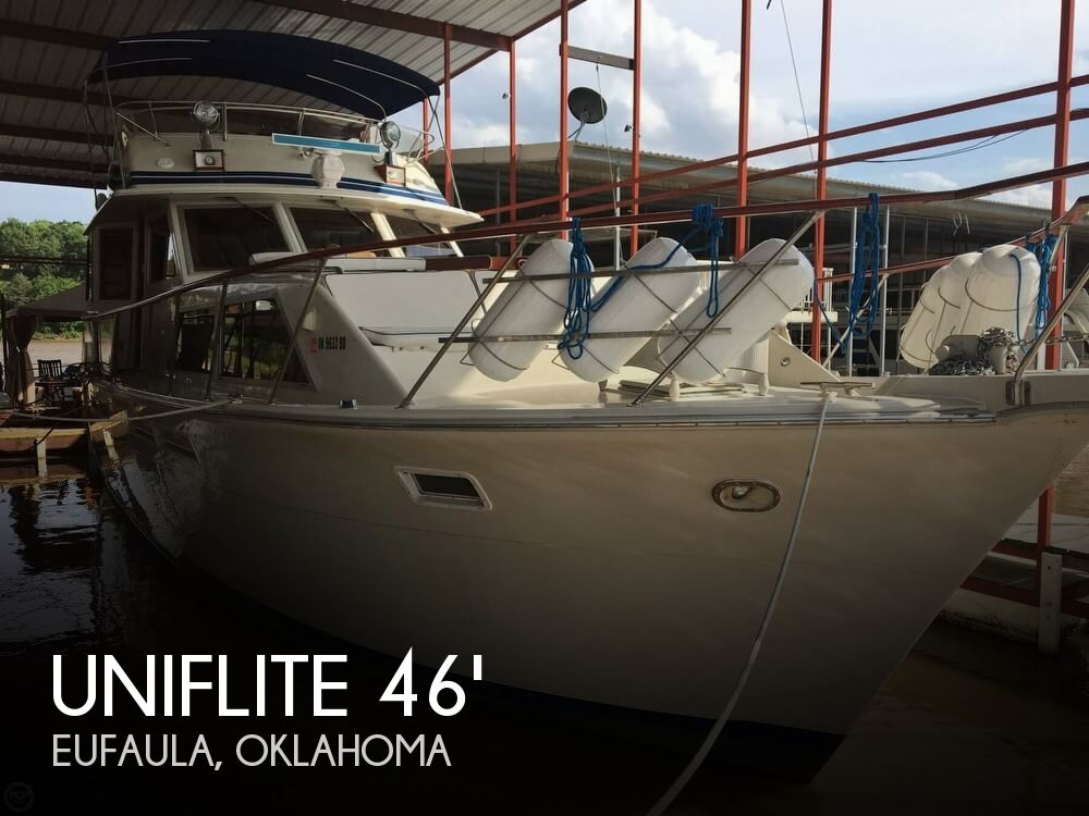 Used Boats For Sale in Tulsa, Oklahoma by owner | 1982 Uniflite 46