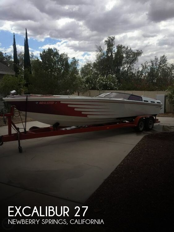 Used Excalibur Boats For Sale by owner | 1981 Excalibur 27