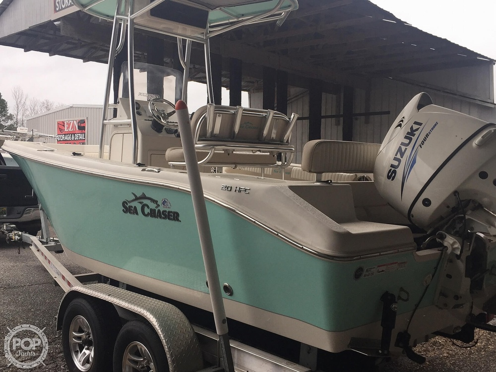 2016 Sea Chaser boat for sale, model of the boat is 20 HFC & Image # 22 of 41