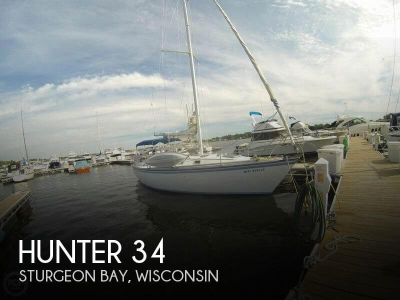 Used Sailboats For Sale in Appleton, Wisconsin by owner | 1984 Hunter 34