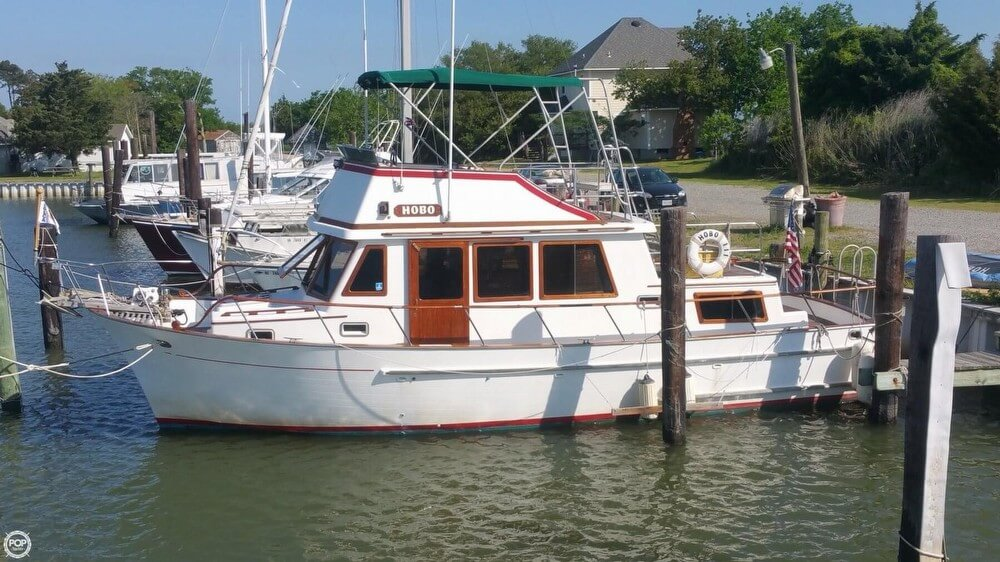 1984 Chien Hwa boat for sale, model of the boat is CHB 34 DC & Image # 4 of 40