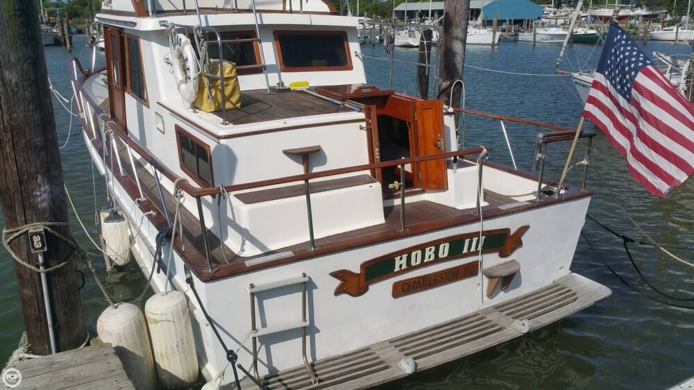 1984 Chien Hwa boat for sale, model of the boat is CHB 34 DC & Image # 34 of 40