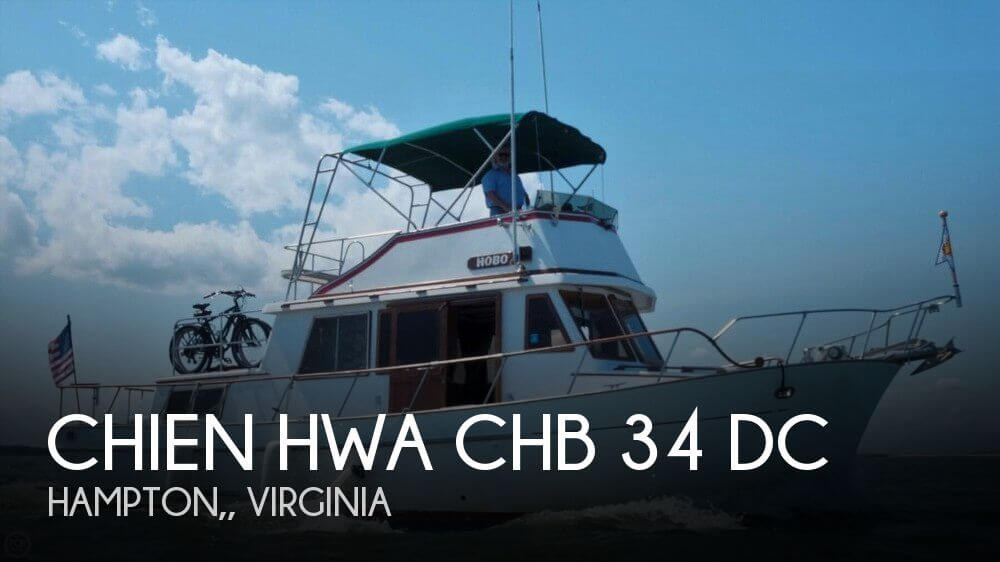 1984 Chien Hwa boat for sale, model of the boat is CHB 34 DC & Image # 1 of 40