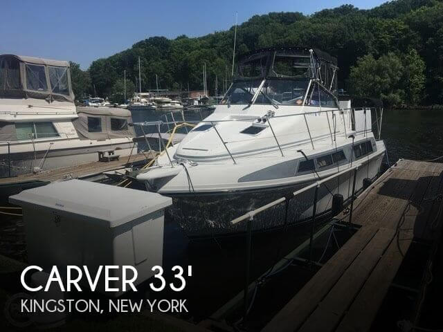 Used Boats For Sale in Albany, New York by owner | 1995 Carver 330 Mariner SE