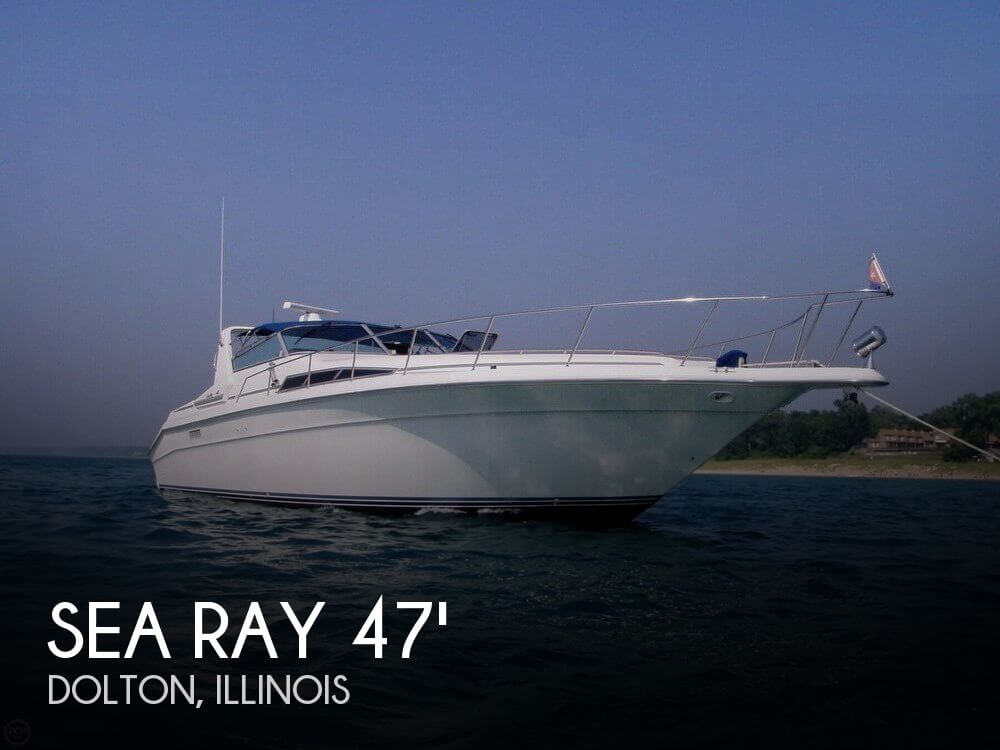 Used Boats For Sale in Chicago, Illinois by owner | 1992 Sea Ray 44