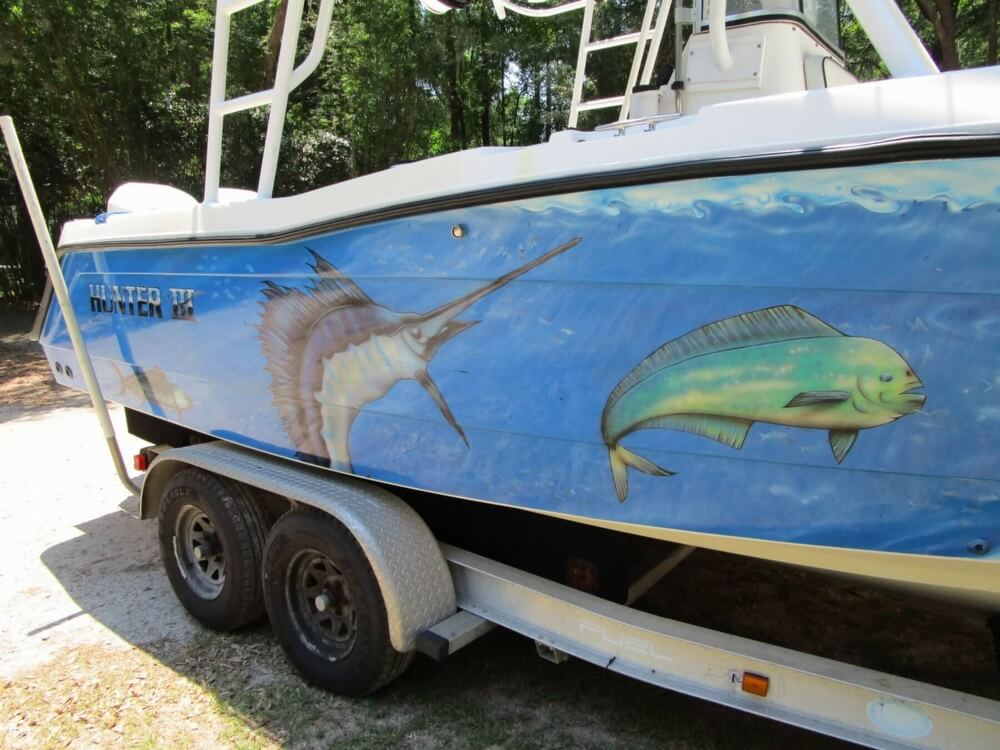 1999 Hydra-Sports boat for sale, model of the boat is 2450 Vector & Image # 28 of 40