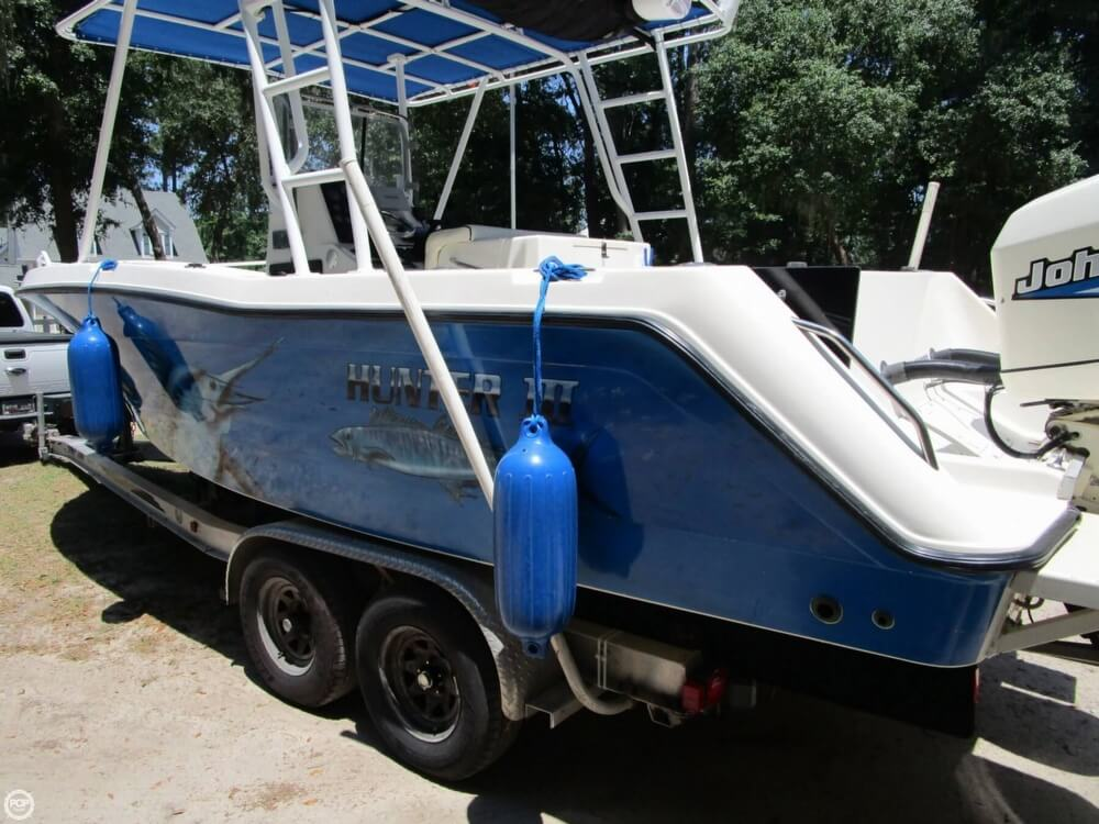1999 Hydra-Sports boat for sale, model of the boat is 2450 Vector & Image # 40 of 40