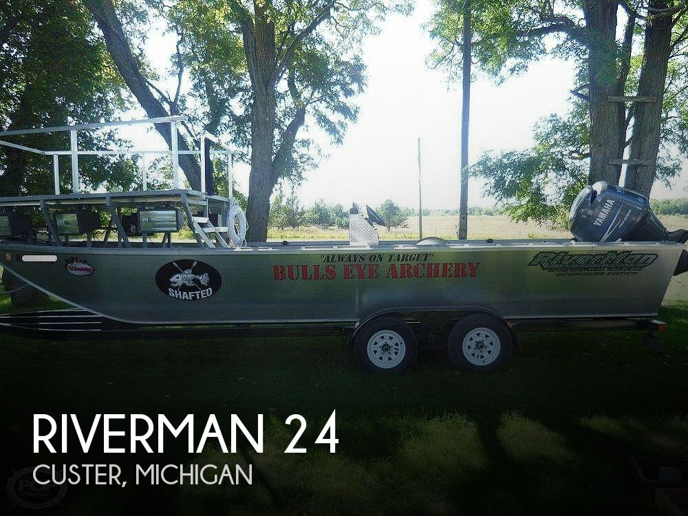 Used Fishing boats For Sale in Michigan by owner | 2011 Riverman 24
