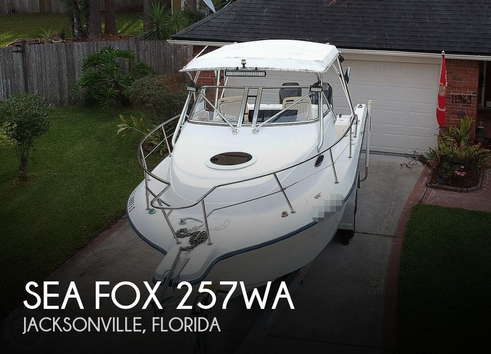 2002 Sea Fox boat for sale, model of the boat is 257WA & Image # 1 of 40