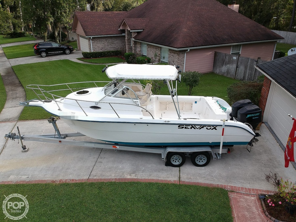 2002 Sea Fox boat for sale, model of the boat is 257WA & Image # 13 of 40