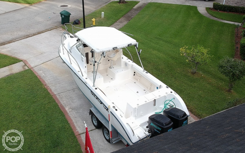 2002 Sea Fox boat for sale, model of the boat is 257WA & Image # 14 of 40