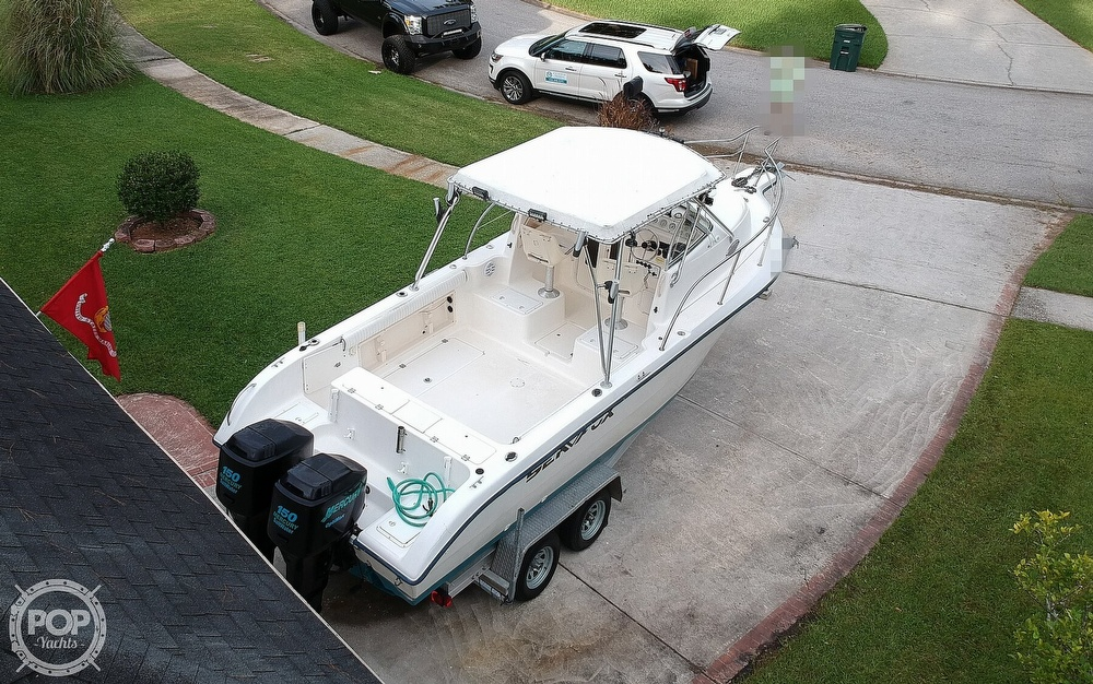 2002 Sea Fox boat for sale, model of the boat is 257WA & Image # 16 of 40