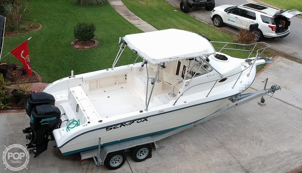 2002 Sea Fox boat for sale, model of the boat is 257WA & Image # 17 of 40