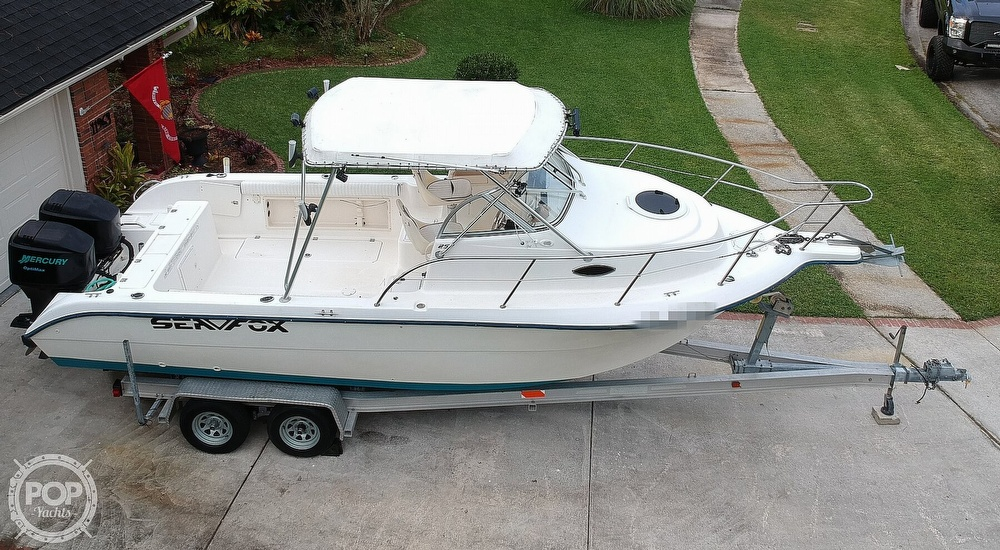 2002 Sea Fox boat for sale, model of the boat is 257WA & Image # 10 of 40