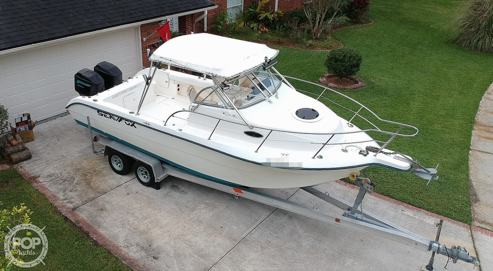 2002 Sea Fox boat for sale, model of the boat is 257WA & Image # 18 of 40