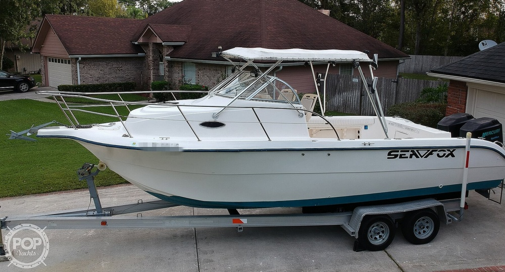 2002 Sea Fox boat for sale, model of the boat is 257WA & Image # 29 of 40