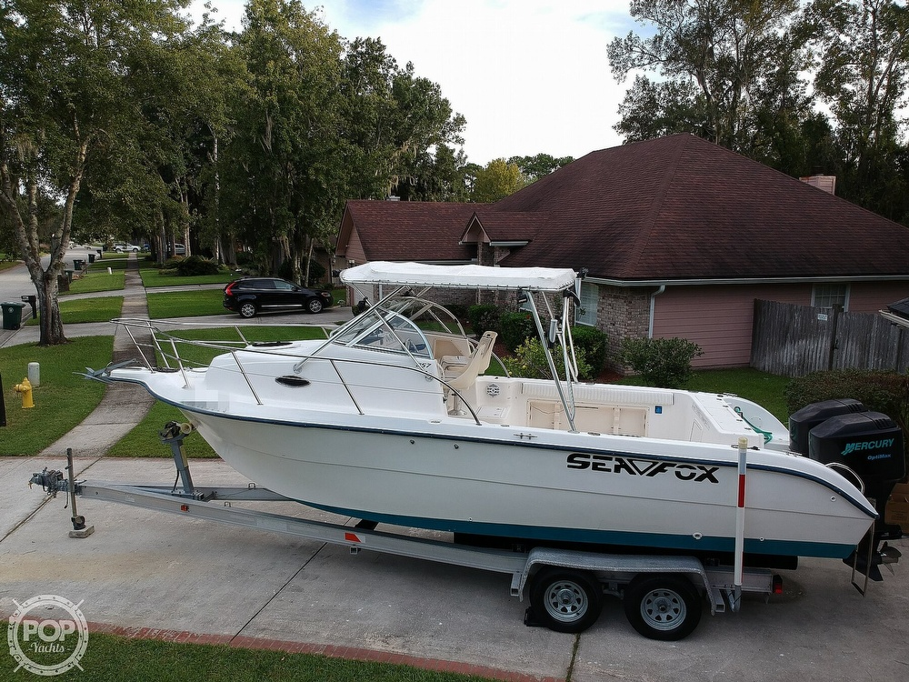 2002 Sea Fox boat for sale, model of the boat is 257WA & Image # 30 of 40