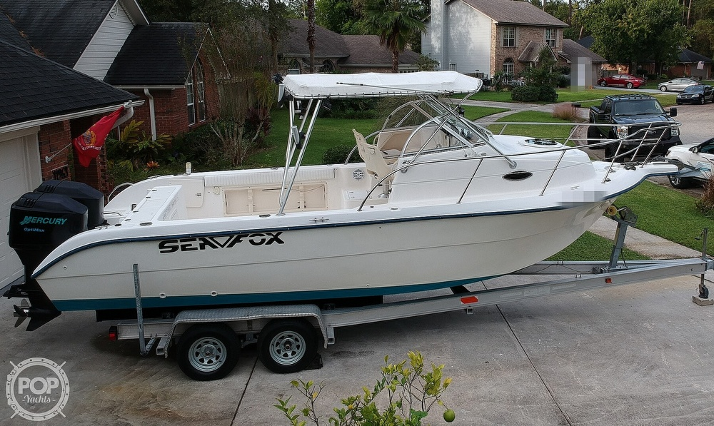 2002 Sea Fox boat for sale, model of the boat is 257WA & Image # 31 of 40