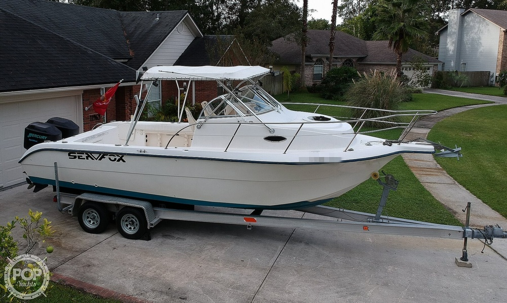 2002 Sea Fox boat for sale, model of the boat is 257WA & Image # 32 of 40