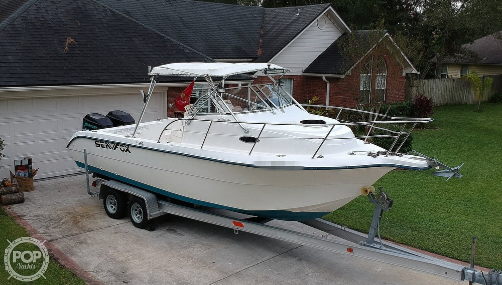 2002 Sea Fox boat for sale, model of the boat is 257WA & Image # 33 of 40
