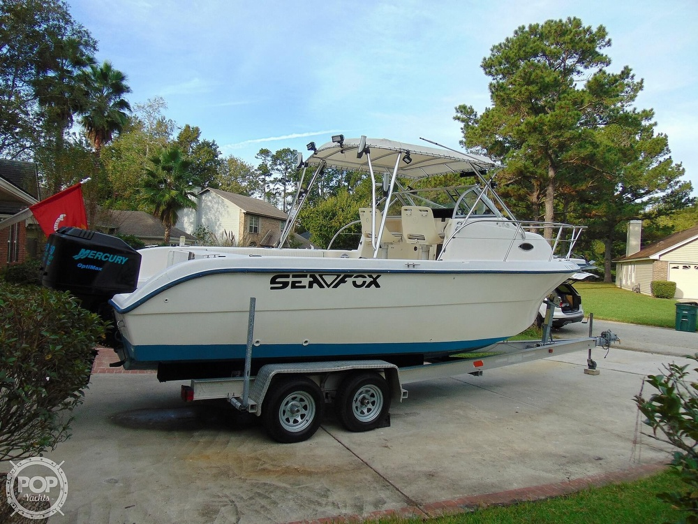 2002 Sea Fox boat for sale, model of the boat is 257WA & Image # 37 of 40