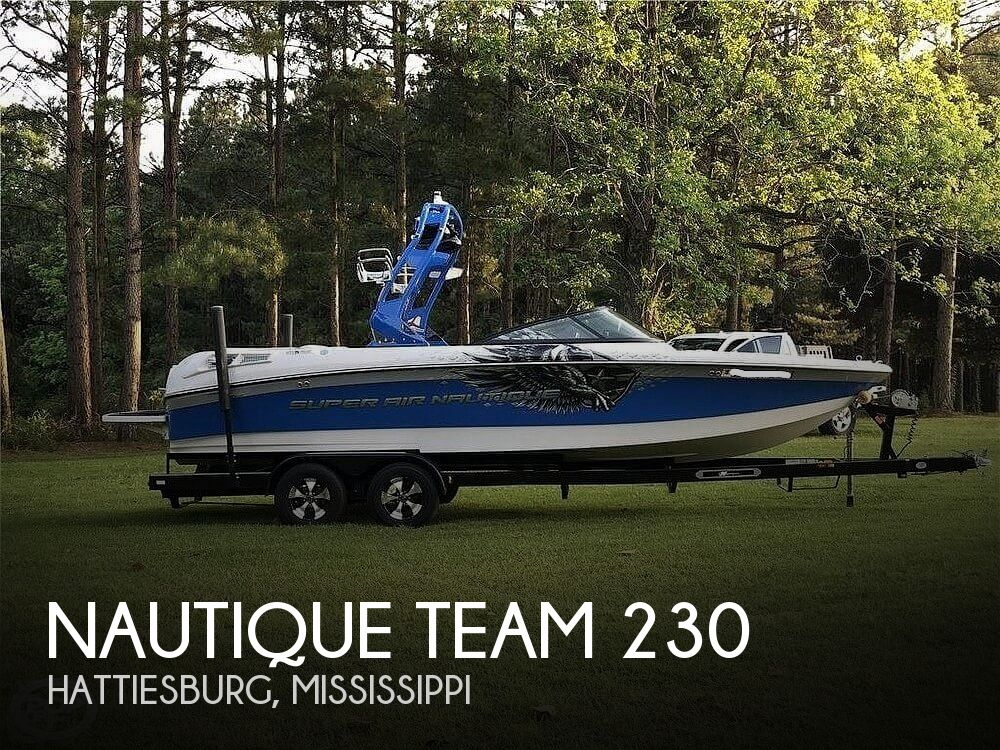 2011 Nautique boat for sale, model of the boat is Team 230 & Image # 1 of 40