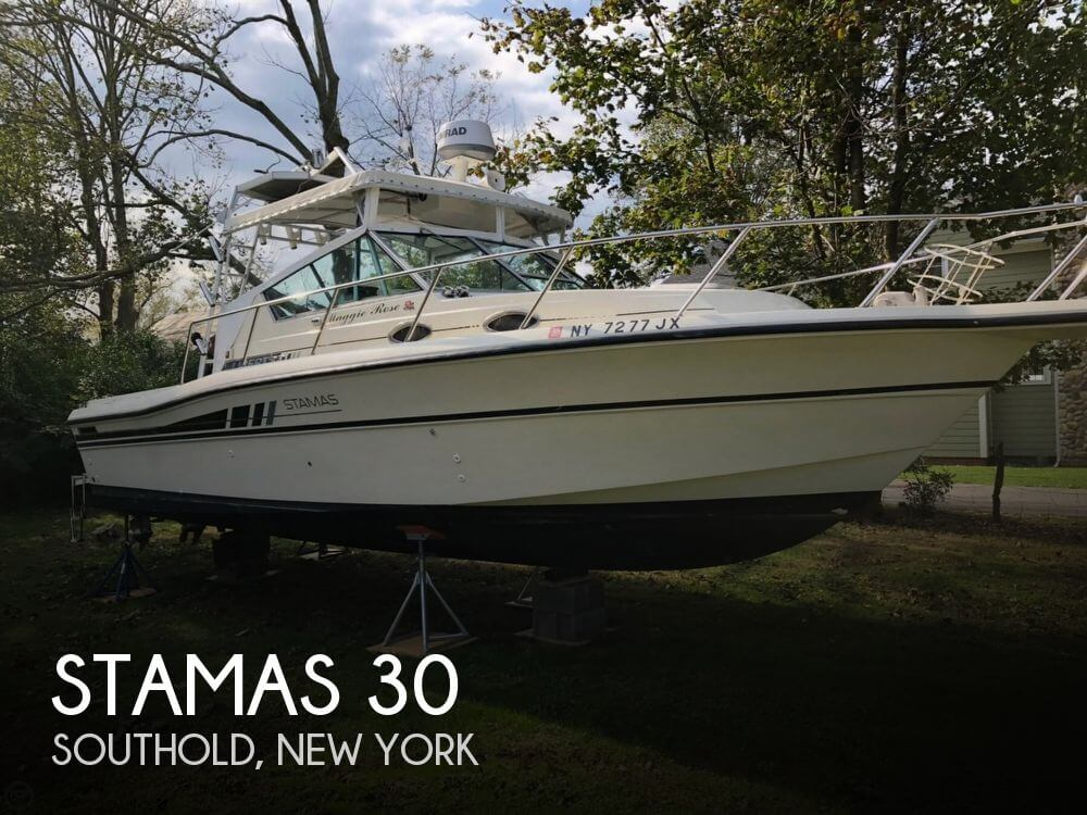 Used Boats For Sale in Providence, Rhode Island by owner | 1989 Stamas 30