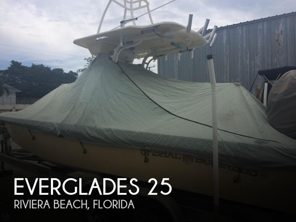 Used Everglades Boats For Sale by owner | 2006 Everglades 25