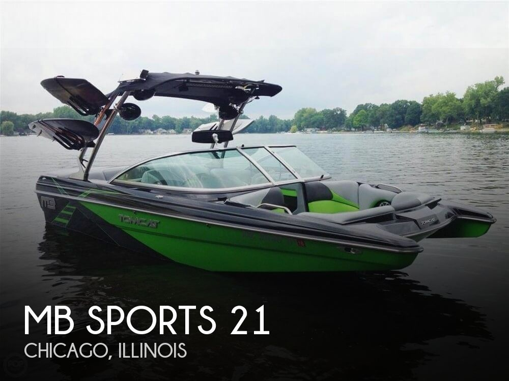 Used MB Sports Boats For Sale by owner   2013 MB Sports 21