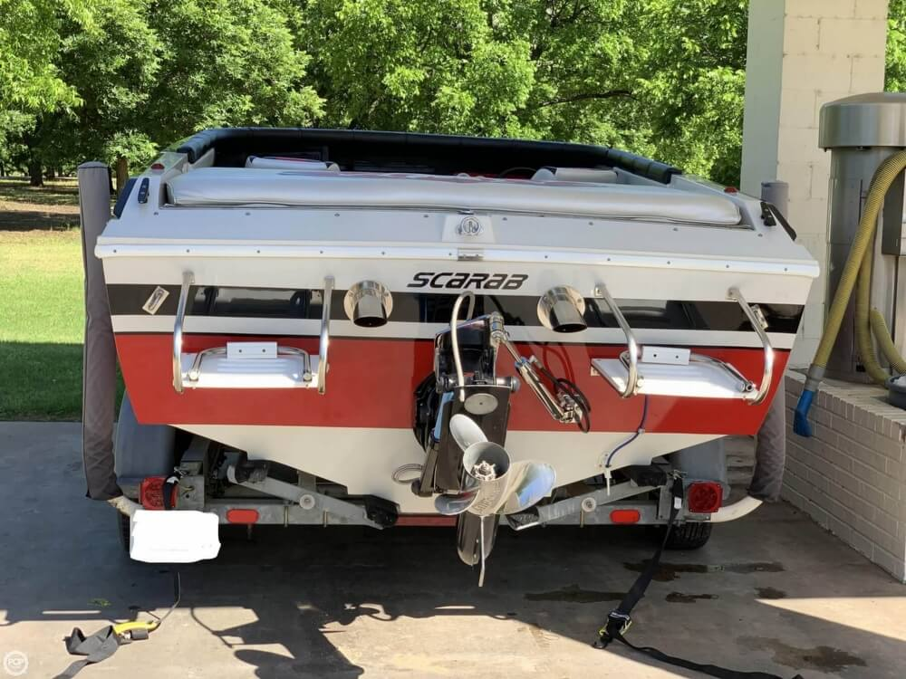 1989 Wellcraft boat for sale, model of the boat is Scarab 21 Excel & Image # 24 of 26