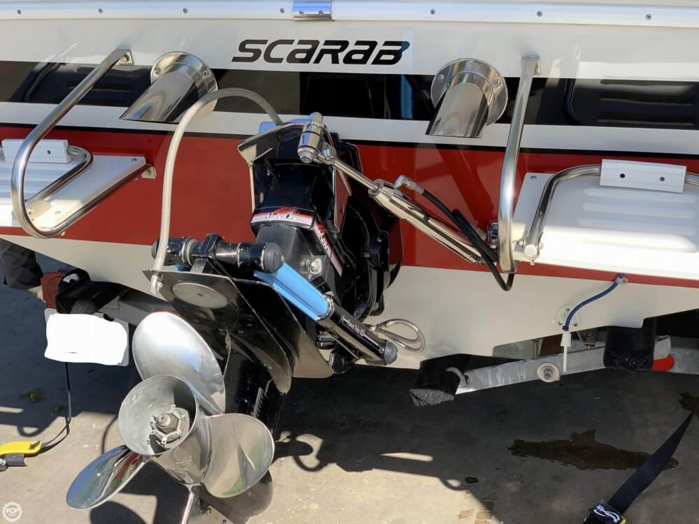 1989 Wellcraft boat for sale, model of the boat is Scarab 21 Excel & Image # 25 of 26