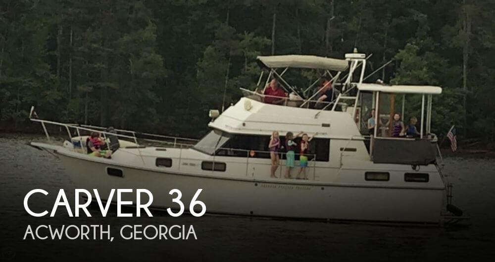Used Carver Boats For Sale in Georgia by owner | 1985 Carver 36