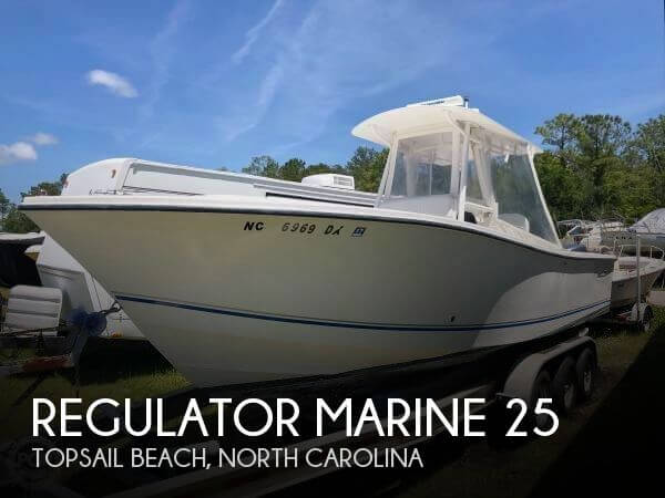 Used Power boats For Sale in North Carolina by owner | 2001 Regulator Marine 25