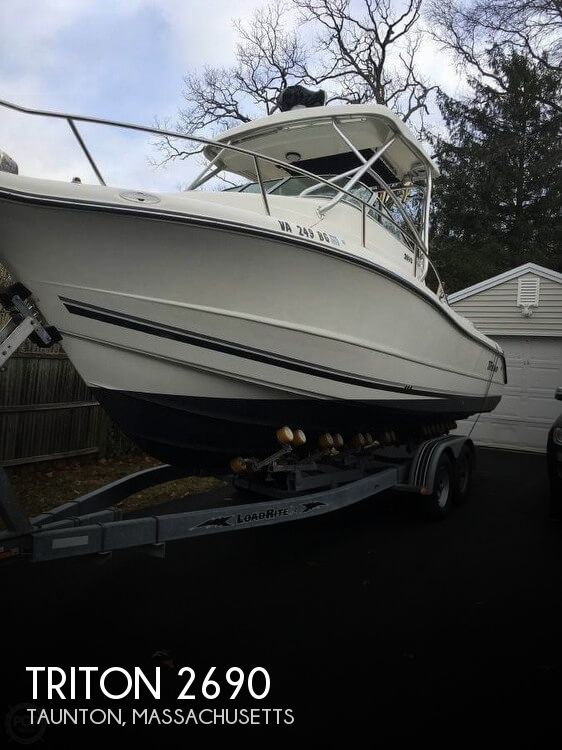 Used Triton  Boats For Sale by owner | 2005 Triton 27
