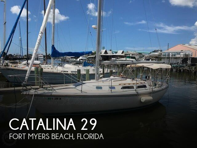 Used Sailboats For Sale by owner | 1987 Catalina 29