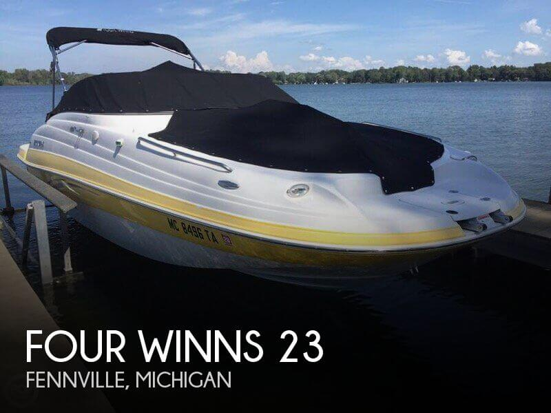 Used FOUR WINNS Boats For Sale in Michigan by owner | 2007 Four Winns 23