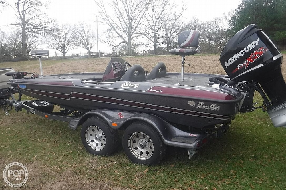2014 Bass Cat Boats boat for sale, model of the boat is Cougar Advantage Elite & Image # 6 of 41
