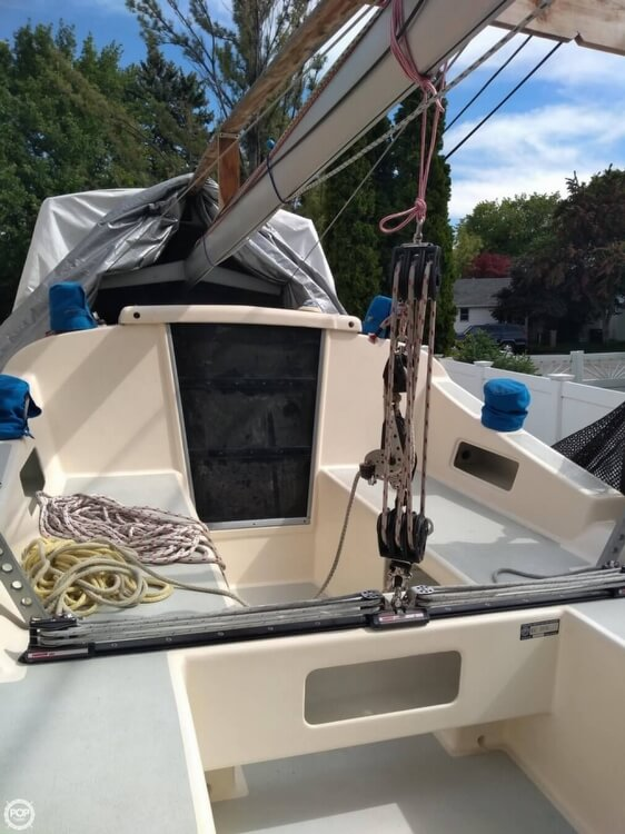 2007 Custom boat for sale, model of the boat is Farrier Marine F82R & Image # 6 of 17