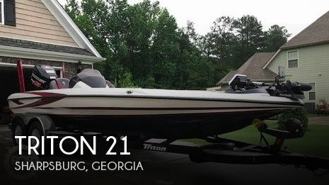 Used Ski Boats For Sale in Georgia by owner | 2017 Triton 21